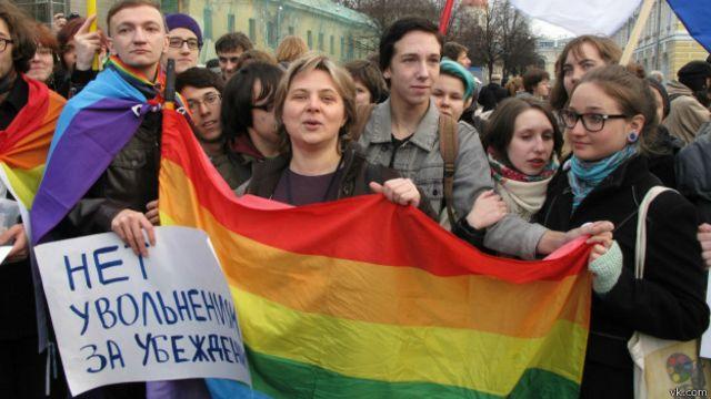 Увольнение Голавы стало поводом для ЛГБТ-пикета