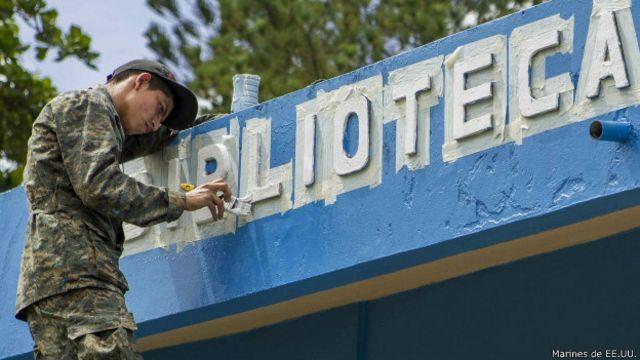 En Guatemala, una misión parecida trabajó en recuperar infraestructura.