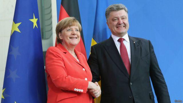 меркель порошенко в берлине