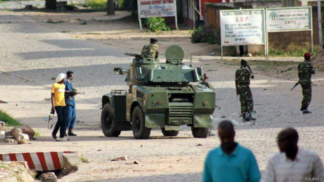 Mutane na cikin firgiji a Bujumbura