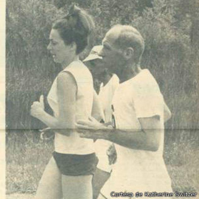 Después de su primer maratón oficial, Switzer se convirtió en un símbolo del atletismo femenino.