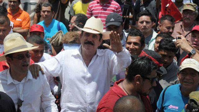 Zelaya fue depuesto por un golpe en 2009.