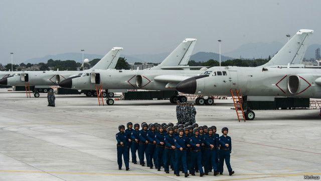 Không quân Trung Quốc - hình minh họa của Tân Hoa Xã