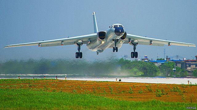 Năm 2015 Trung Quốc đã cho phi cơ ném bom bay qua eo biển Myako gần Okinawa của Nhật