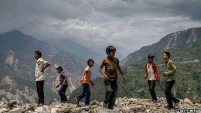 Непал еще не оправился от мощных землетрясений