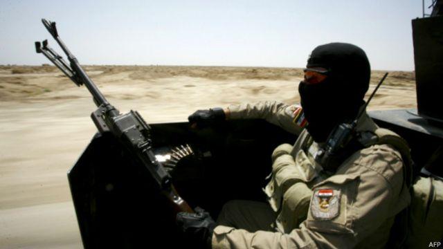 Иракский военный