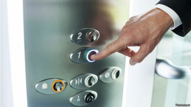 دکمههای آسانسور