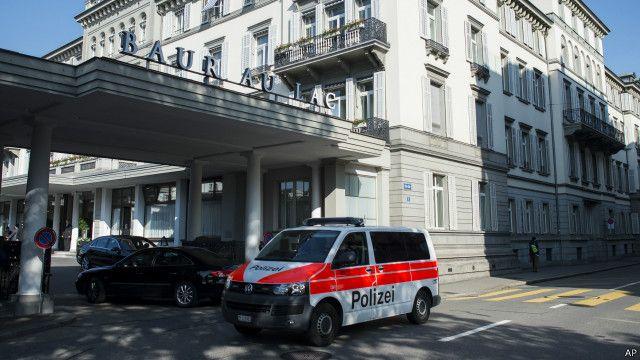 瑞士警方的有關拘捕行動是應美國的要求進行的。