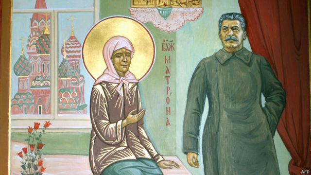Сталин и Матрона