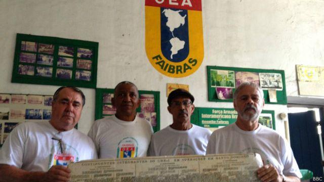 Veteranos brasileños de la Faibrás