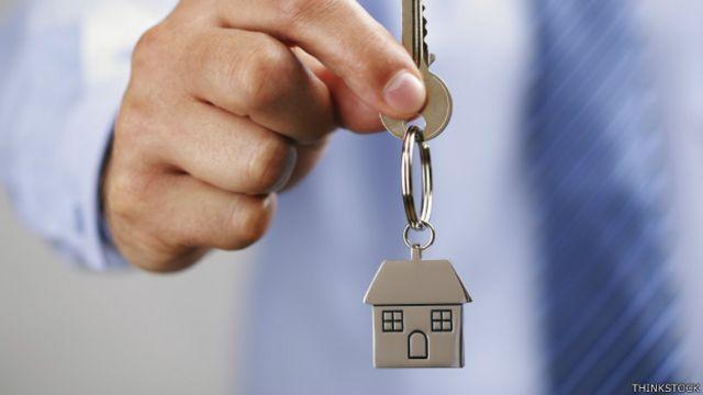 La llave de una casa