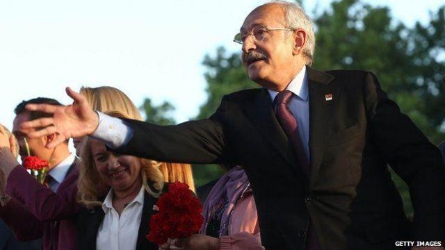يمثل حزب الشعب الجمهوري، بقيادة كمال قليتش دار أوغلو، حزب المعارضة الرئيسي في تركيا.