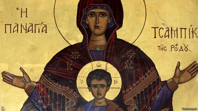 Virgen, jesus