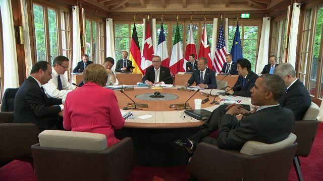 Giới nhà lãnh đạo G7  không nêu cụ thể tên nước nào trong căng thẳng Biển Đông.