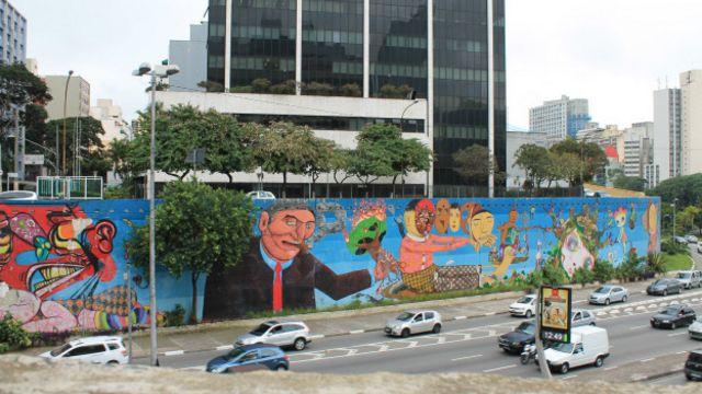 Britanico Cria Tour Por Melhores Grafites De Sao Paulo Bbc News Brasil