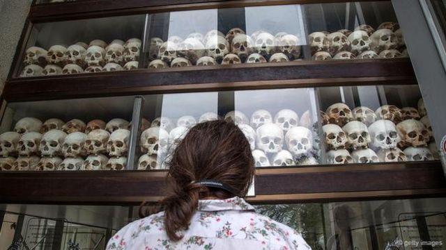 波爾布特應對數百萬柬埔寨人的死亡負責。(圖片:蓋帝圖像)