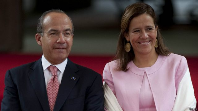 La esposa del expresidente de México Felipe Calderón buscará la presidencia  en 2018 - BBC News Mundo