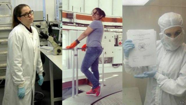 Varias científicas respondieron a los comentarios de Hunt con imágenes irónicas y el hashtag #TanSexyQueDistraigo.
