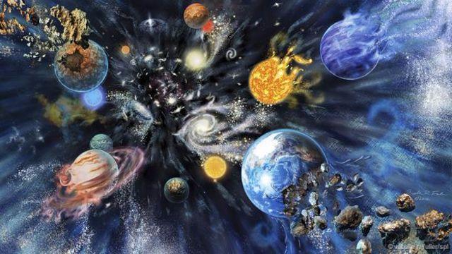 'Büyük Parçalanma' sonucu gezegenler ve yıldızlar parçalanabilir.