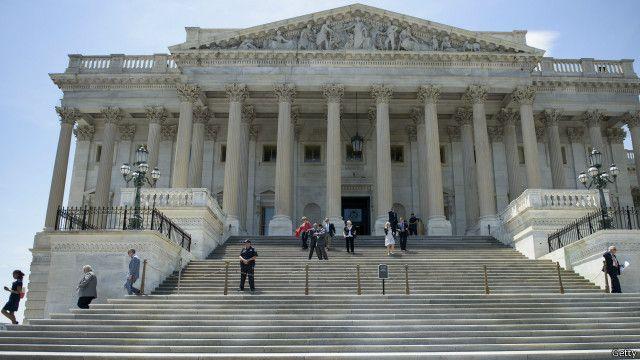 Trụ sở Quốc hội Mỹ trên Đồi Capitol, tại Washington, D.C