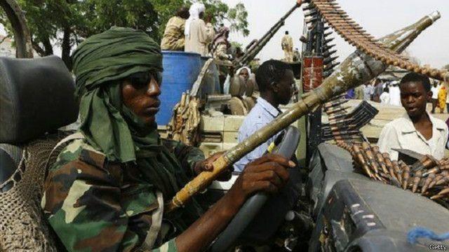 إقليم درافور غربي السودان لا يزال يعاني اضطرابا كبيرا