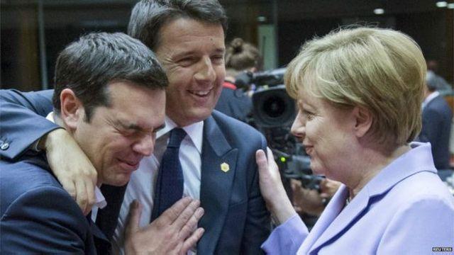 Hasil pertemuan pimpinan Uni Eropa menyebutkan, rencananya para migran itu direlokasi di seluruh Uni Eropa, tetapi mereka tidak membahas persoalan kuota.