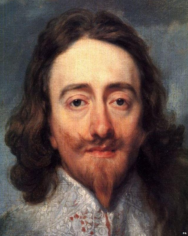 Carlos I, de Anthon van Dyck