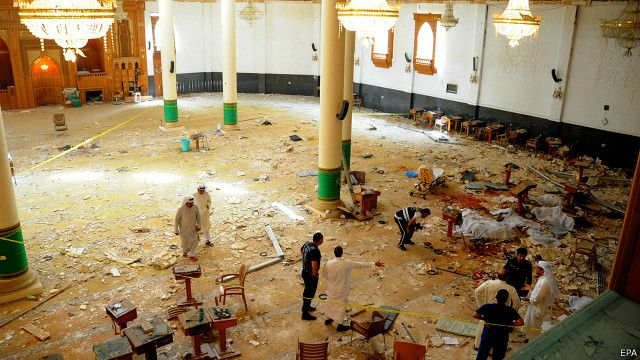 حمله انتحاری روز جمعه به مسجد شیعیان در کویت ۲۷ کشته به جا گذاشت