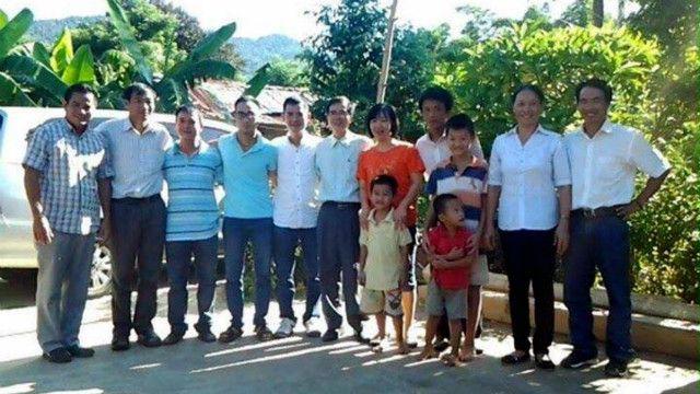 """Ông Lê Quốc Quân nói ông """"rất vui và hạnh phúc vì được gặp lại gia đình và bạn bè"""" sau khi ra tù"""