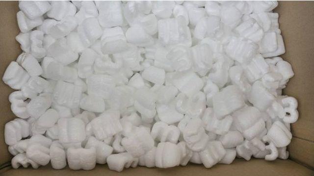 EPS yang dijual di AS dengan merk Styrofoam, ditemukan oleh peneliti Otis Ray McIntire dari Dow Chemical pada 1941 lampau.