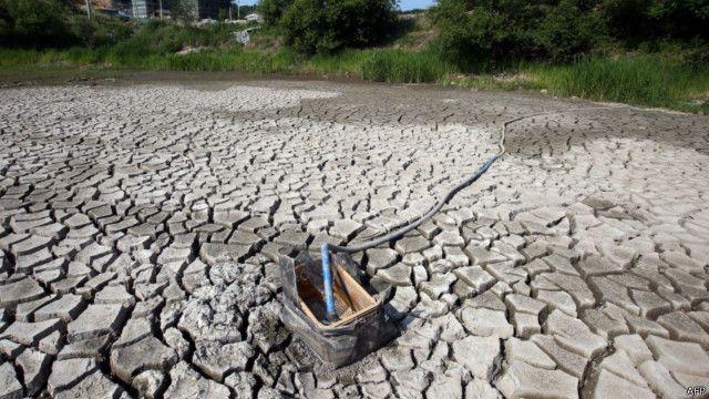 خشکسالی کره شمالی، طی یکصد سال اخیر بیسابقه بوده است