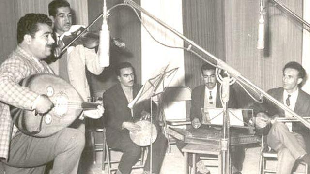 منصور نریمان، نوازنده عود