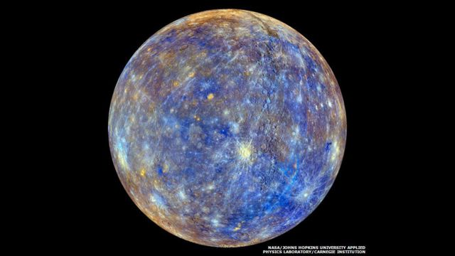 Mercury (NASA/Johns Hopkins University Applied Physics Laboratory/Carnegie Institution of Washington)