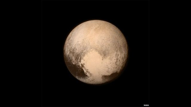 Pluto. NASA