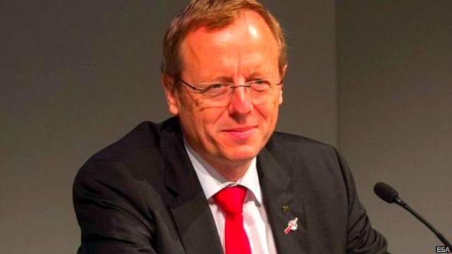 यूरोपीय स्पेस एजेंसी के अध्यक्ष