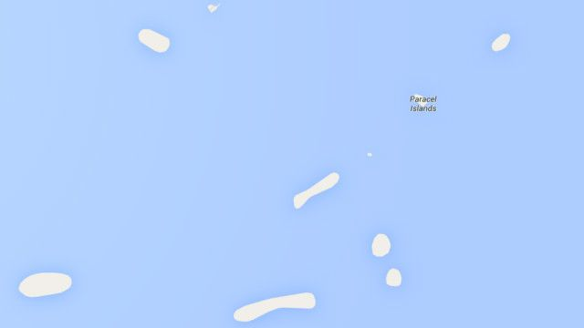 Nhập 'Sansha' trên thanh công cụ tìm kiếm của Google Maps sẽ không còn mang lại kết quả nào.