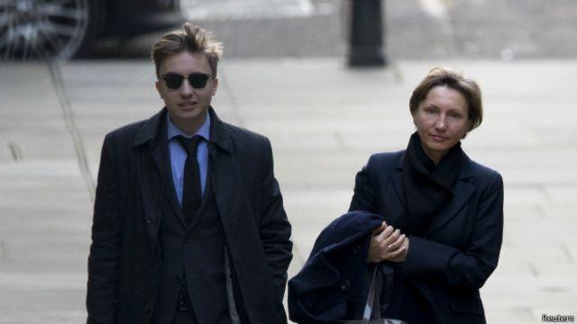 Марина Литвиненко с сыном
