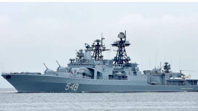 Đô đốc Pantelev là một trong những chiến hạm hiện đại nhất của hải quân Nga