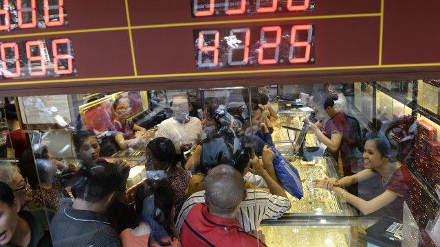Việc Anh rời EU lập tức khiến giá vàng và USD tăng cao tại Việt Nam