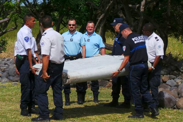 Igipande catowe vyagaragaye ko ari ica MH370