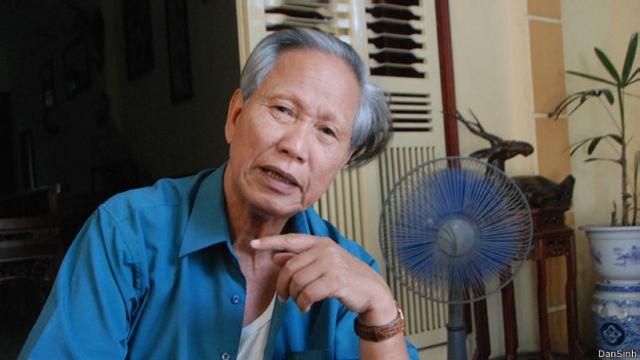 Nhà văn Võ Bá Cường, tác giả viết về ông Nguyễn Hữu Đang