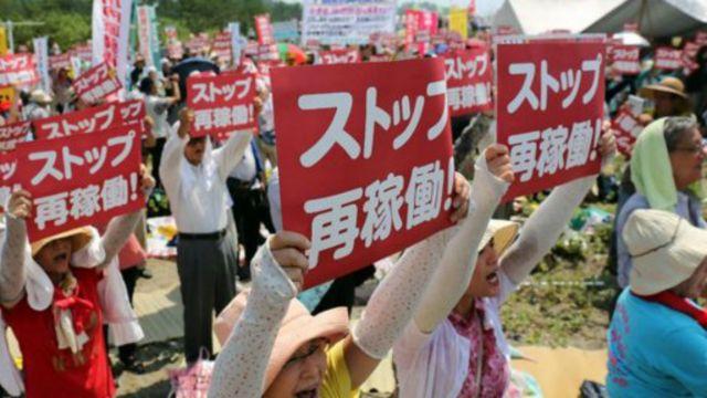 Des manifestations ont eu lieu.
