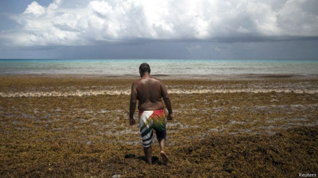 Muchos turistas canceleron sus vacaciones al Caribe.