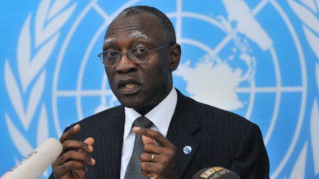 Babacar Gaye était chef de la MINUSCA depuis juillet 2014.