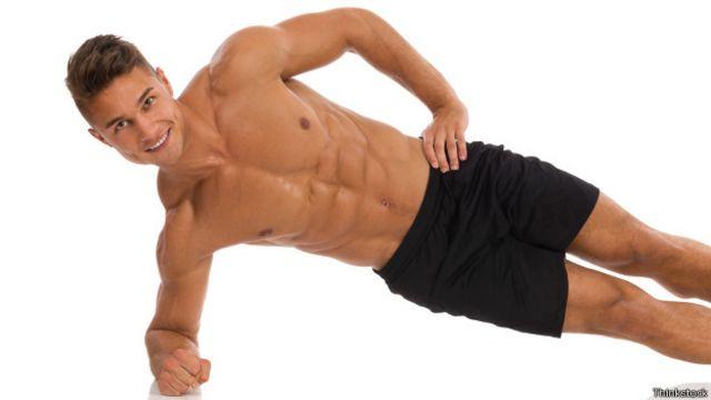 La plancha lateral ayuda a desarrollar otros músculos abdominales.