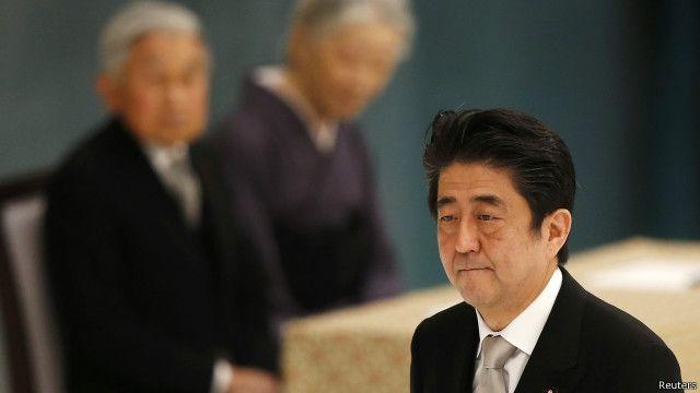 Thủ tướng Nhật Bản, Shinzo Abe không đưa ra lời xin lỗi mới với các nạn nhân của Nhật Bản trong thế chiến II.