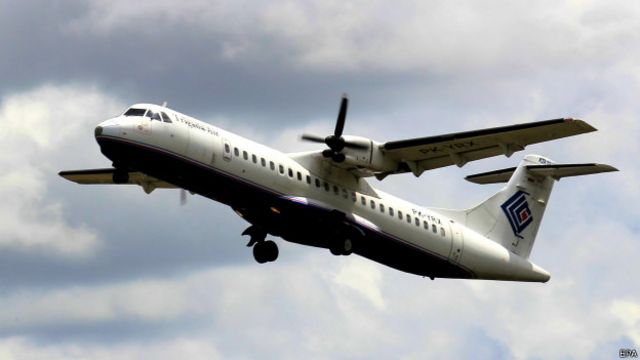 Pesawat Trigana Air tipe ATR 42 dengan rute Sentani-Oksibil hilang kontak pada Minggu (16/08) siang.