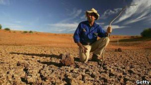 El Niño también se asocia a sequías al otro lado del Pacífico, como en Australia.