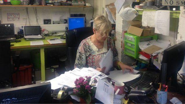 A Helen Rice el TDAH le hace difícil organizar sus tareas cotidianas.