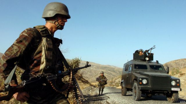Saldırın ardından bölgede operasyon başlatıldı. (ARŞİV)